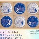 Tokyo Disney Resort Mini Dish Set Cinderella Castle Plate Splash Mountain