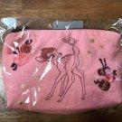 Disney Bambi Canvas Corner Minnie Pouch Hand Pochette Bag Accessory Case