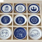 Made in Japan Star Wars small plate 9 sets saucer