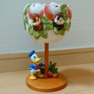 Tokyo Disney Land Donald Chip and Dale Flower Pot Accessory Case Ornament
