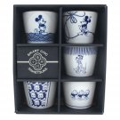 Made in Japan Disney Mickey 5 Cup bowl set for soba Sogo Inoguchi