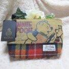 Disney Winnie the Pooh Harris Tweed Pouch  Case Handbag Wallet