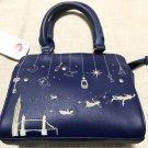Disney Store Japan Peter Pan Handbag Boston Tote Bag Case