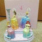 Disney Store Princess Photo Stand Ariel Bell Cinderella Aurora Figure Frame