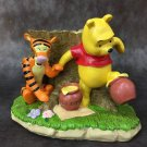 Disney Winnie the Pooh & Tigger Honey Hunt Figure Bowl Case Cover Planting Pot
