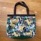 TDR Tokyo Disney Land Bambi Gobelin Weave Embroidered Tote Bag Case Shoulder