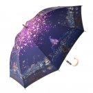 Disney Store Rapunzel on the tower UV cut umbrella Combined use of rain & fall