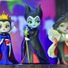 Disney Characters Q posket petit Villains All three kinds set