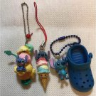 Disney Stitch strap set ice cream shoes strap key chain figure