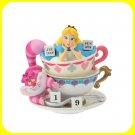 Disney Store Japan Alice in Wonderland Permanent Calendar Cheshire Cat Figure