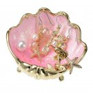 Disney Store Japan THE LITTLE MERMAID 2018 Ariel jewelry tray with piercing shel