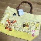 Disney Store Japan Winnie the Pooh Tote Bag Pooh & Friends Door POOH'S HOUSE Win