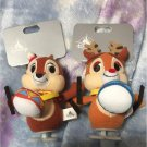 Chip & Dale CHRISTMAS SANTA'S GIFT Plush Doll Key chain spring mascot
