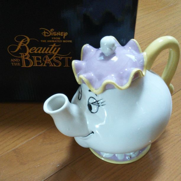 Disney from the Animated Movie Pot Mrs. Teapot Beauty and the Beast