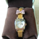 Disney Store Japan Uni Bear City Ribbon Wrist watch Rhinestone