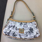 DOONEY & BOURKE Bag Mickey Mouse Comic Pattern Tote Bag Hand Pouch Pochette