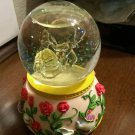 Disney Beauty and the Beast Bell Water Globe Music Box LED Snow Dome Sankyo FS