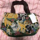 Tokyo Disney Land Bag Gobelin weave Bambi Tote Bag Hand Embroidery Pochette TDR