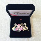 2001 Tokyo Disney Resort Pin Badge Disney's Cats Cheshire Figaro Berlioz Lucifer