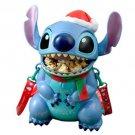 Disney Resort Limited Disney Christmas 2015 Stitch Santa Claus Popcorn Bucket