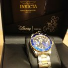INVICTA Disney Donald Duck Wrist Watch Collaboration Limited Blue