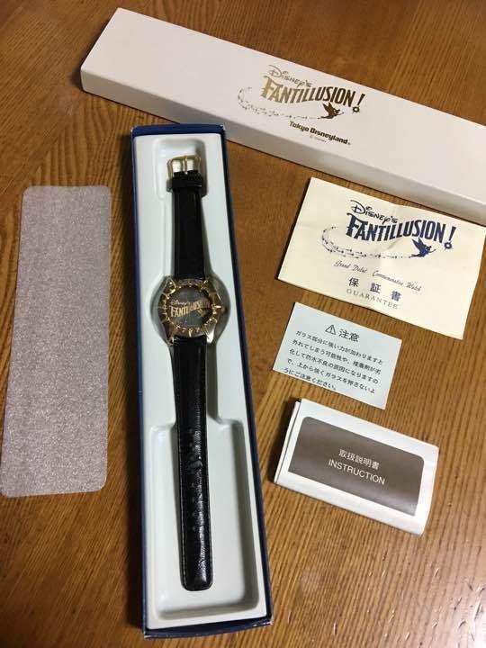 Tokyo Disneyland Disney Fantillusion! 1995 Grand Open Wrist watch Limited 4000