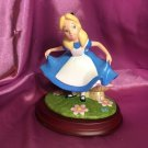 2009 Made in Japan Alice in Wonderland Pottery Figure Doll 800 limited Hand craf