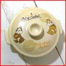 Disney Chip & Dale Earthen pot with sukiyaki ramen Bowl noodle bowl Housewares