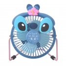 Disney Store Japan Stitch USB Fan Desk Stitch Day