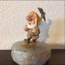 Disney Store Ron Lee Snow White 7 Dwarf Smoothie Figure Doll Marble Ornament