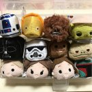 Disney Store Japan 2016 Tsumtu Star Wars 12 Set Plush Doll Figure