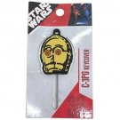 Disney Star Wars C - 3 PO key cover case with chain FS