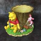 Disney Winnie the Pooh Pooh & Piglet Honey Hunt Figure Plant Pot Container Cover