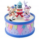 Tokyo Disney Resort 35th Duffy & Friends Happy Marching Fan Music Box figure dol
