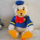 STEIFF WDW 1993 Teddy Bear Donald limited 1500 30cm Yogi .R. You Ginger Sign