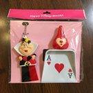 Disney Land Alice in Wonderland The Queen of Heart Trump troops broom Dust