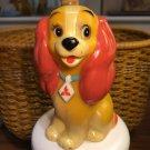 1969 Walt Disney Production Vintage Lady Saving Box Plastic Figure