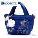 ROOTOTE Disney Beauty and the Beast Feather Ru Deli Pot Lady Tote Handbag Case