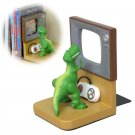 Disney Toy Story Bookend Rex SD-8009 Resin Japan Seto craft book stand Holder FS