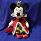 2006 Disney Store JAPAN Minnie Heart's Queen Costume Plush Doll Halloween