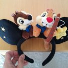 Disney Land Pari The 25th limited Chip and Dale Headband only oversea