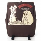 Disney Lady & Trump Rucksack Backpack cart school bag Dark Brown 31×41×14cm