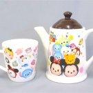 Disney Tsumtsum premium Tea pot & cup set Mickey Minnie Tokyo Japan Coffee gift