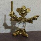 Tokyo Disney Land LENCIA AUSTRIA Mickey Mouse Fantasia Crystal glassl ornament