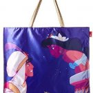 Disney Aladdin Jasmine ROOTOTE Scarf Bag Larger size With zipper  for Adults