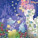 Disney Mickey & Minnie Mouse 70 Piece Jigsaw Puzzle Silhouette EPOCH Japan