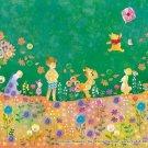 Disney Winnie The Pooh 70 Piece Jigsaw Puzzle Silhouette EPOCH Japan