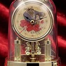 Disney Beauty and the Beast Princess Premium Swing Dome clock gold