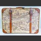 Walt Disney World & McDonald 1995 Trunk Bag Travel Case Map Hand Case Carry