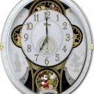 Rhythm Wall Clock Disney Mickey & Friends Karakuri radio clock Trick 4MN509MC03